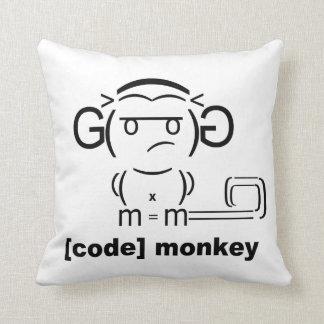 Kodieren Sie Affe-Kissen Kissen