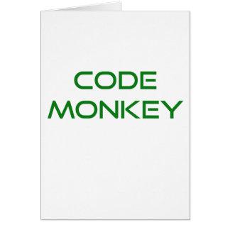 Kodieren Sie Affen Karte