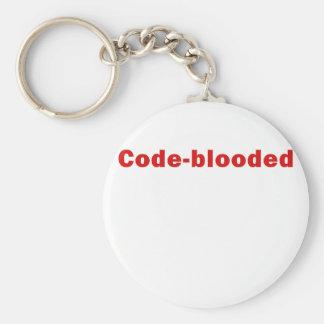Kodieren Sie Blooded Schlüsselanhänger