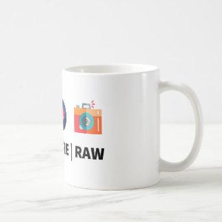 Kodieren Sie rohen Kern - den für kreativen Kaffeetasse