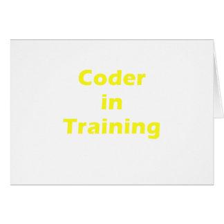 Kodierer im Training Karte