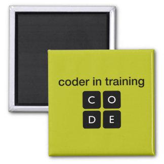 Kodierer im Training Quadratischer Magnet