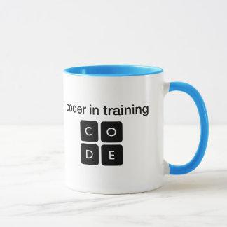 Kodierer im Training Tasse