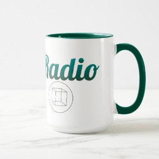 Kodierer-Radio 15 Unze-Wecker-Tasse Tasse