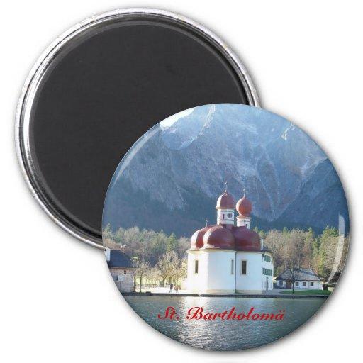 Koenigsee, St. Bartholomä Magnets