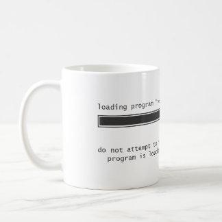 Koffein behält mich gesund kaffeetasse