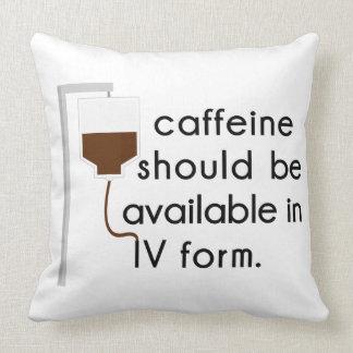 Koffein in IV, Krankenschwester-Spaß Kissen