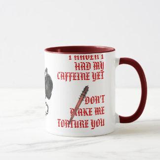 Koffein kann Folterung sein Tasse