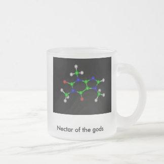 Koffein, Nektar der Götter Mattglastasse