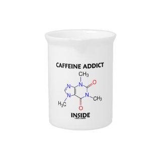 Koffein-Süchtig-Innere (Koffein-Molekül) Getränke Pitcher
