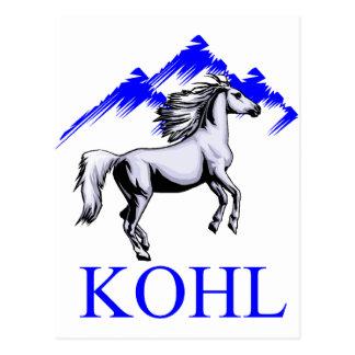 Kohl-Colt Logo_Color und Text Postkarte