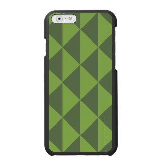 Kohl-Grün-Pfeil-Muster geometrisch Incipio Watson™ iPhone 6 Geldbörsen Hülle