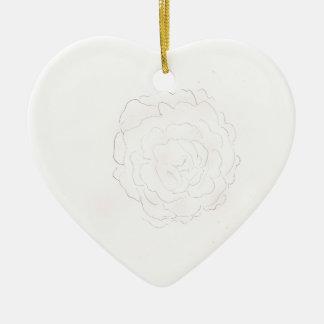 Kohl-Rosen-Entwurf Keramik Ornament