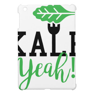 Kohl-Yeah lustiger veganer Entwurf iPad Mini Hülle