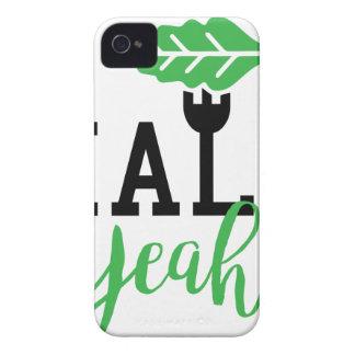 Kohl-Yeah lustiger veganer Entwurf iPhone 4 Hülle