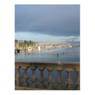 Kohlen-Hafen, BC Postkarte