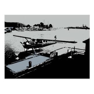 Kohlen-Hafen-Seeflugzeug-Dock Postkarte