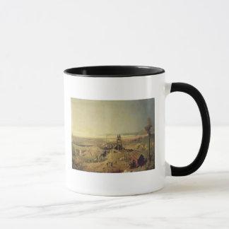 Kohlenbergwerke und Lehm-Steinbrüche bei Tasse