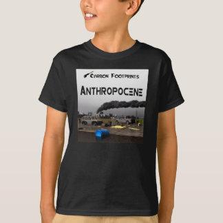 Kohlenstoff-Abdrücke - Anthropocene T-Shirt