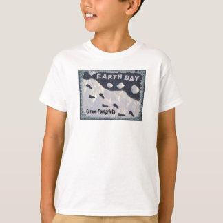 Kohlenstoff-Abdrücke T-Shirt