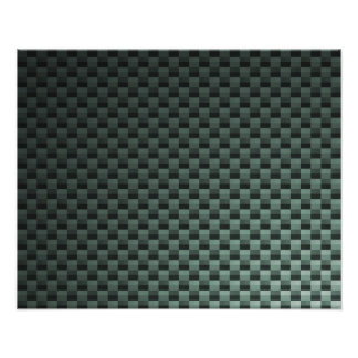 Kohlenstoff-Faser gemustert Photo Druck