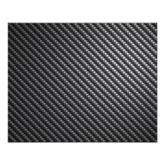 Kohlenstoff-Faser-Muster Photo Druck