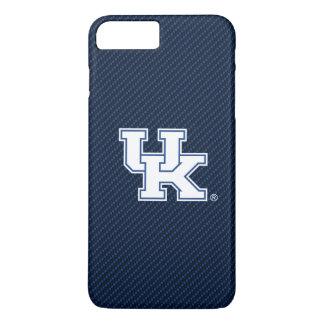 Kohlenstoff-Faser-Muster Kentuckys | BRITISCHES iPhone 8 Plus/7 Plus Hülle