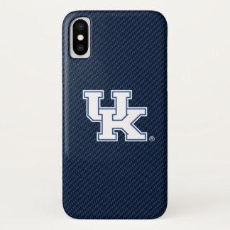 Kohlenstoff-Faser-Muster Kentuckys | BRITISCHES iPhone X Hülle