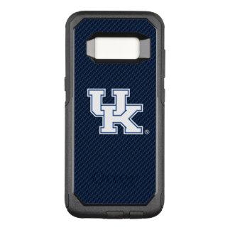 Kohlenstoff-Faser-Muster Kentuckys | BRITISCHES OtterBox Commuter Samsung Galaxy S8 Hülle