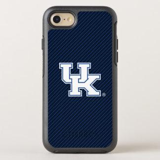 Kohlenstoff-Faser-Muster Kentuckys | BRITISCHES OtterBox Symmetry iPhone 8/7 Hülle