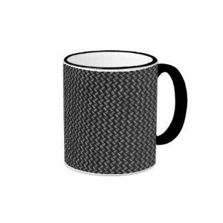 Kohlenstoff-Faser-Tasse Ringer Tasse