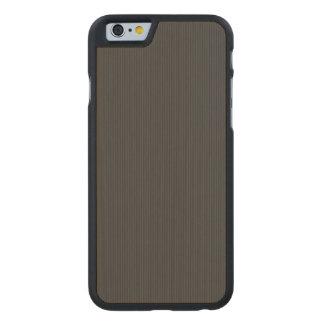 Kohlenstofffaser Muster Carved® iPhone 6 Hülle Ahorn