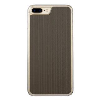 Kohlenstofffaser Muster Carved iPhone 7 Plus Hülle