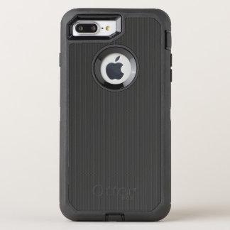 Kohlenstofffaser Muster OtterBox Defender iPhone 7 Plus Hülle