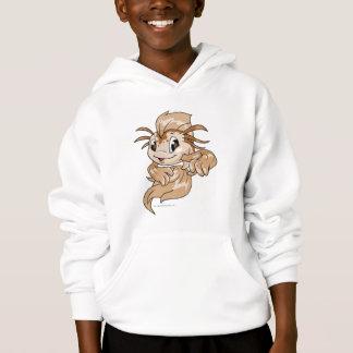 Koi Brown Hoodie