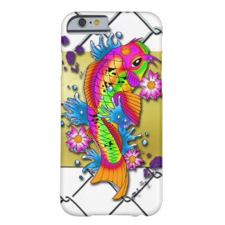 Koi Fisch-Kunst Barely There iPhone 6 Hülle