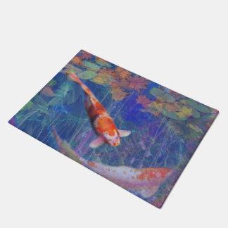 Koi Fisch-Teich Türmatte