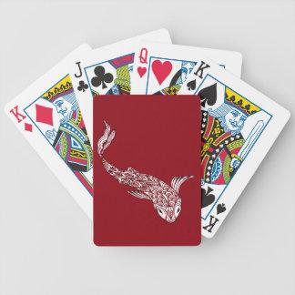 Koi Fische Bicycle Spielkarten