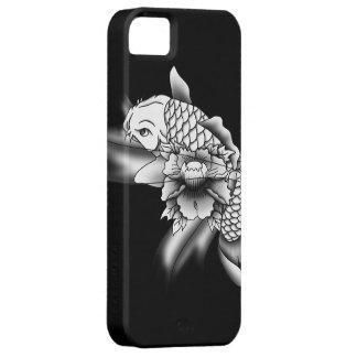 Koi Fische - schattiert Barely There iPhone 5 Hülle