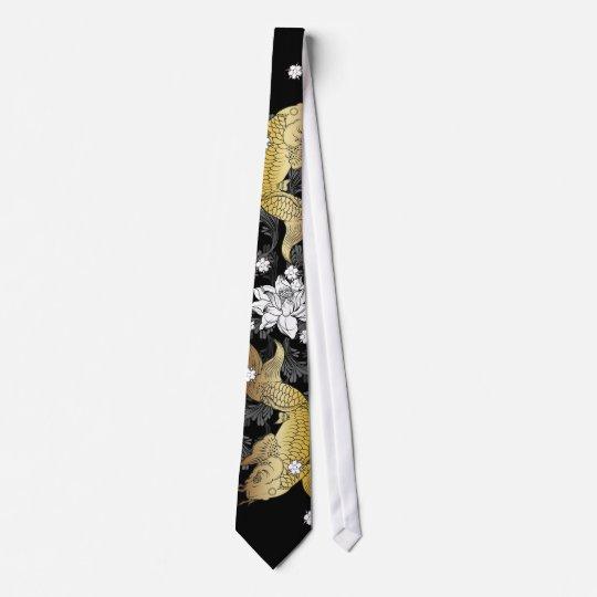 Koi für Vati Bedruckte Krawatte
