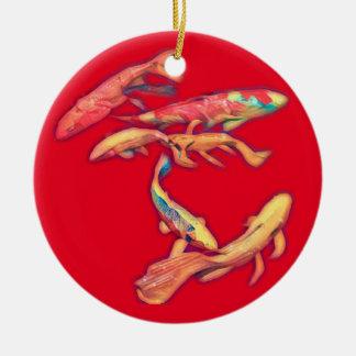 Koi Keramik Ornament