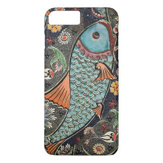 Koi Mosaik iPhone 8 Plus/7 Plus Hülle