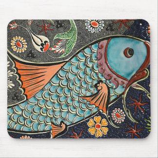 Koi Mosaik Mousepad