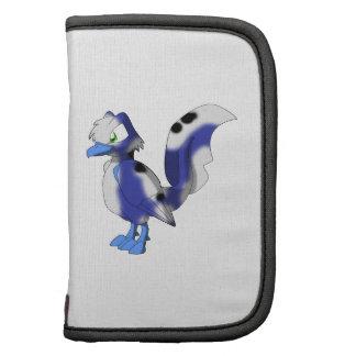 Koi Reptilian-Vogel - Blaubeere weißes Mappen