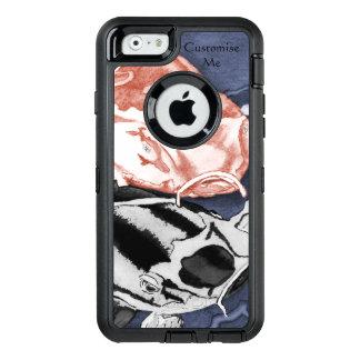 Koi (Rot und Schwarzes) OtterBox iPhone 6/6s Hülle