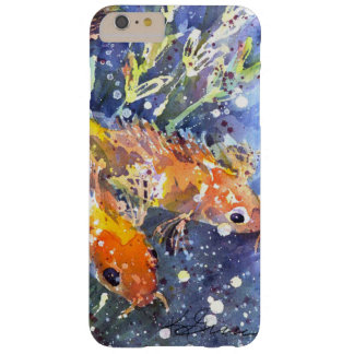 Koi Teich-Aquarell durch Kathleen Gasparin Barely There iPhone 6 Plus Hülle