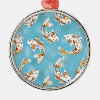 kois silbernes ornament