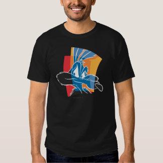Kojote ausdrucksvolle 22 des Wile-E Tshirts