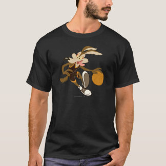 Kojote des Wile-E, der durch Wettbewerb tröpfelt T-Shirt
