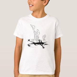 Kojote des Wile-E und STRASSE RUNNER™ Hemden